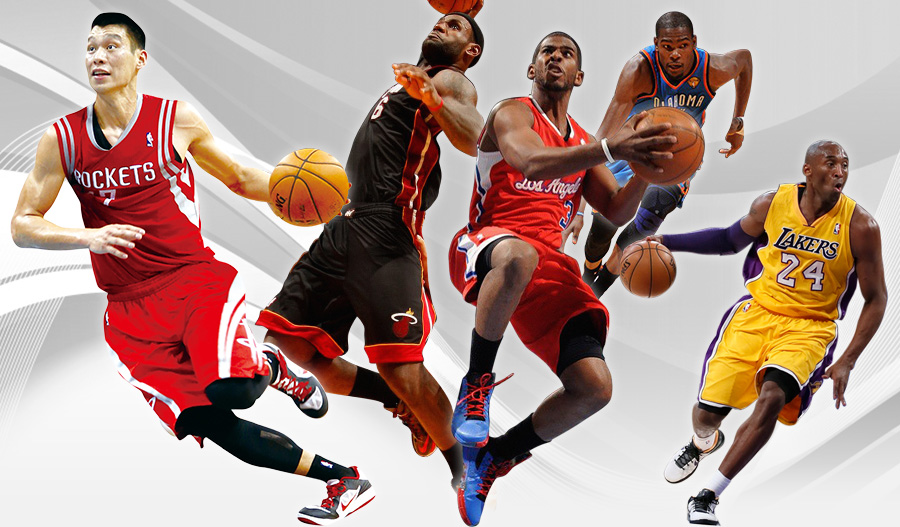nba篮球_NBA篮球鞋广告海报–姚明–素材元素psd